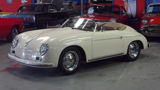 1957 porsche 356 speedster replica see video stock 6882. Black Bedroom Furniture Sets. Home Design Ideas