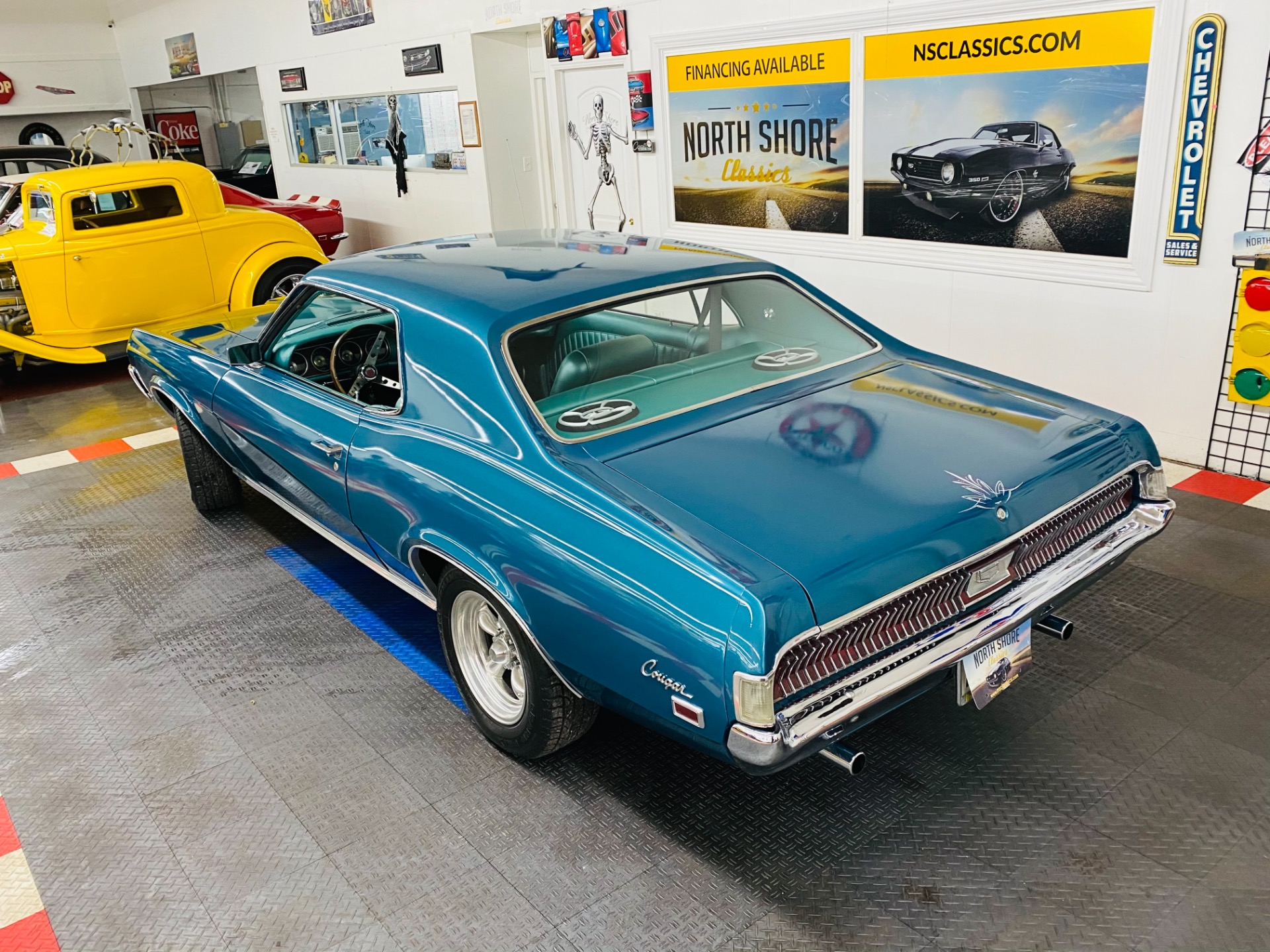 Used 1969 Mercury Cougar - 302 V8 ENGINE - GREAT DRIVING CLASSIC - SEE VIDEO | Mundelein, IL