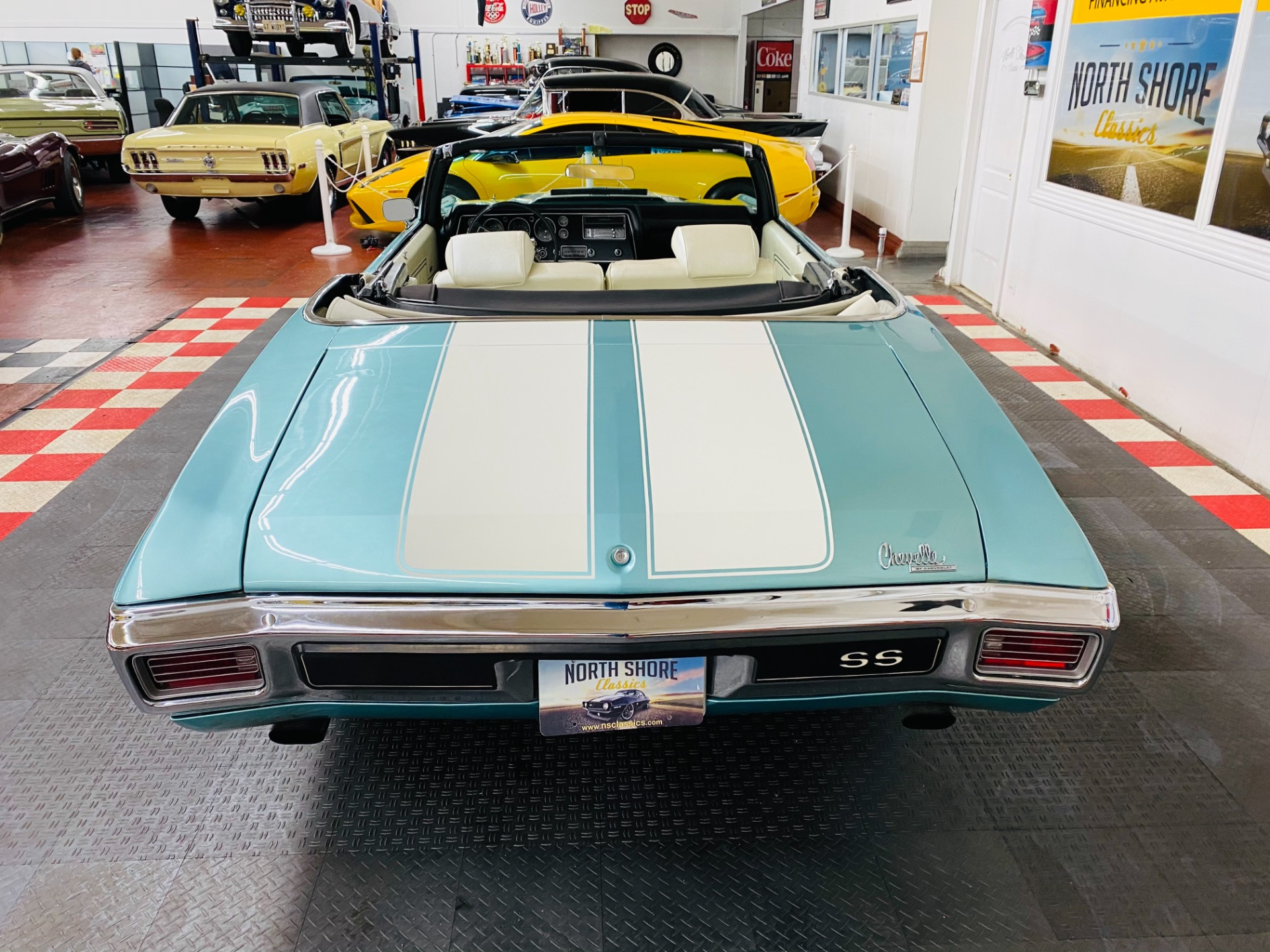 Used 1970 Chevrolet Chevelle - CONVERTIBLE -SUPER SPORT TRIBUTE - 454 ENGINE - 5 SPEED TRANS - SEE VIDEO | Mundelein, IL