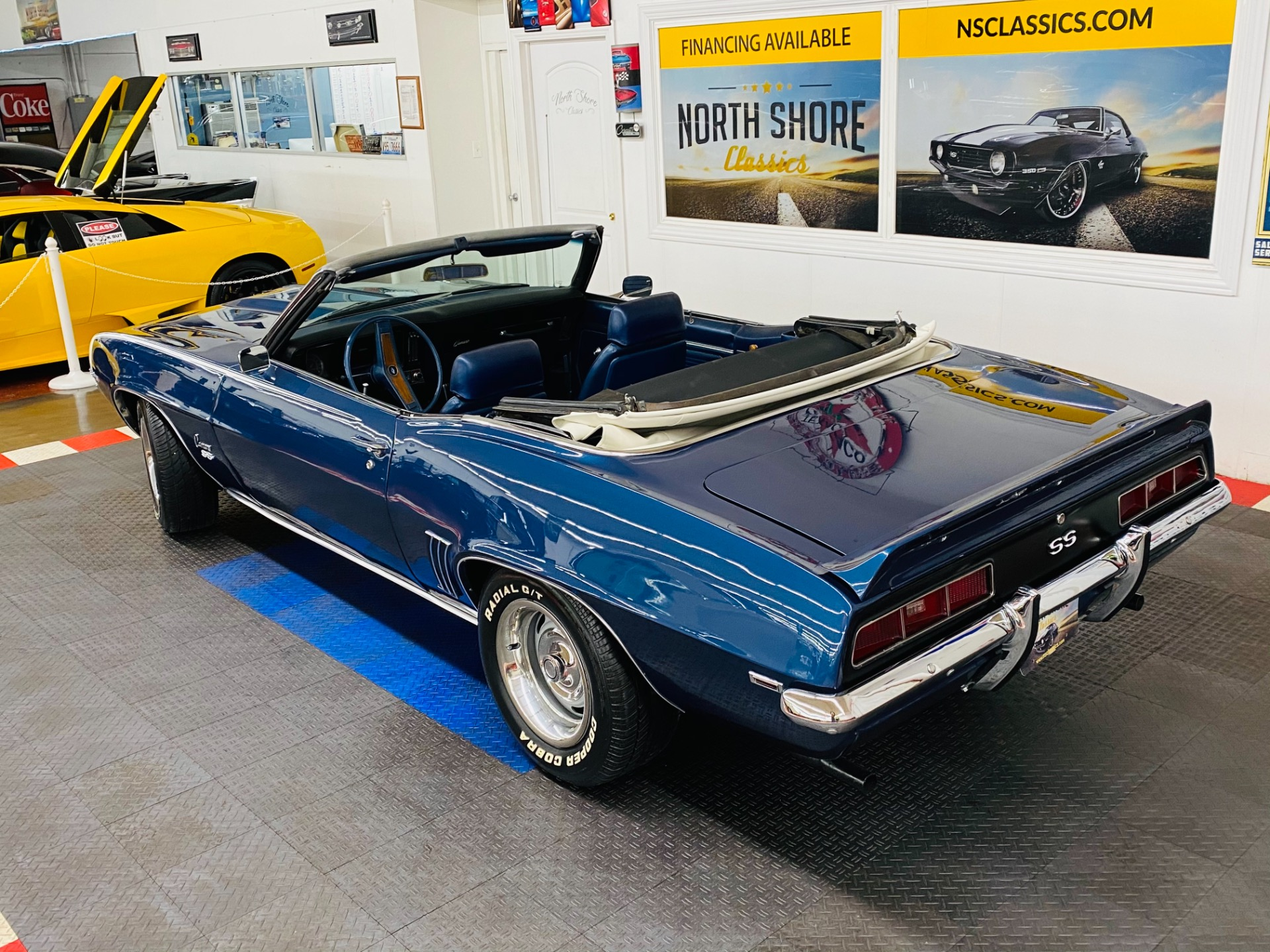 Used 1969 Chevrolet Camaro - SUPER SPORT CONVERTIBLE TRIBUTE  - FACTORY DUSK BLUE - SEE VIDEO | Mundelein, IL