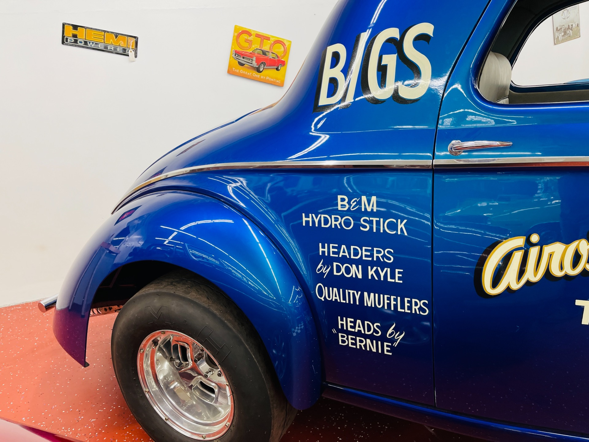 Used 1941 Willys Hot Rod / Street Rod - 572 BIG BLOCK - OLD SCHOOL GASSER - STEEL BODY - | Mundelein, IL