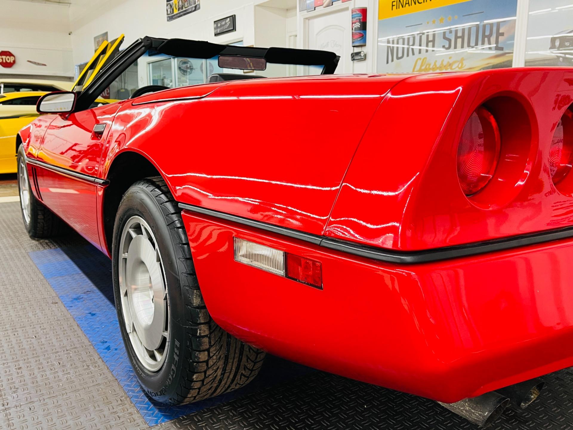 Used 1986 Chevrolet Corvette - CONVERTIBLE - 6,640 ORIGINAL MILES - SEE VIDEO | Mundelein, IL
