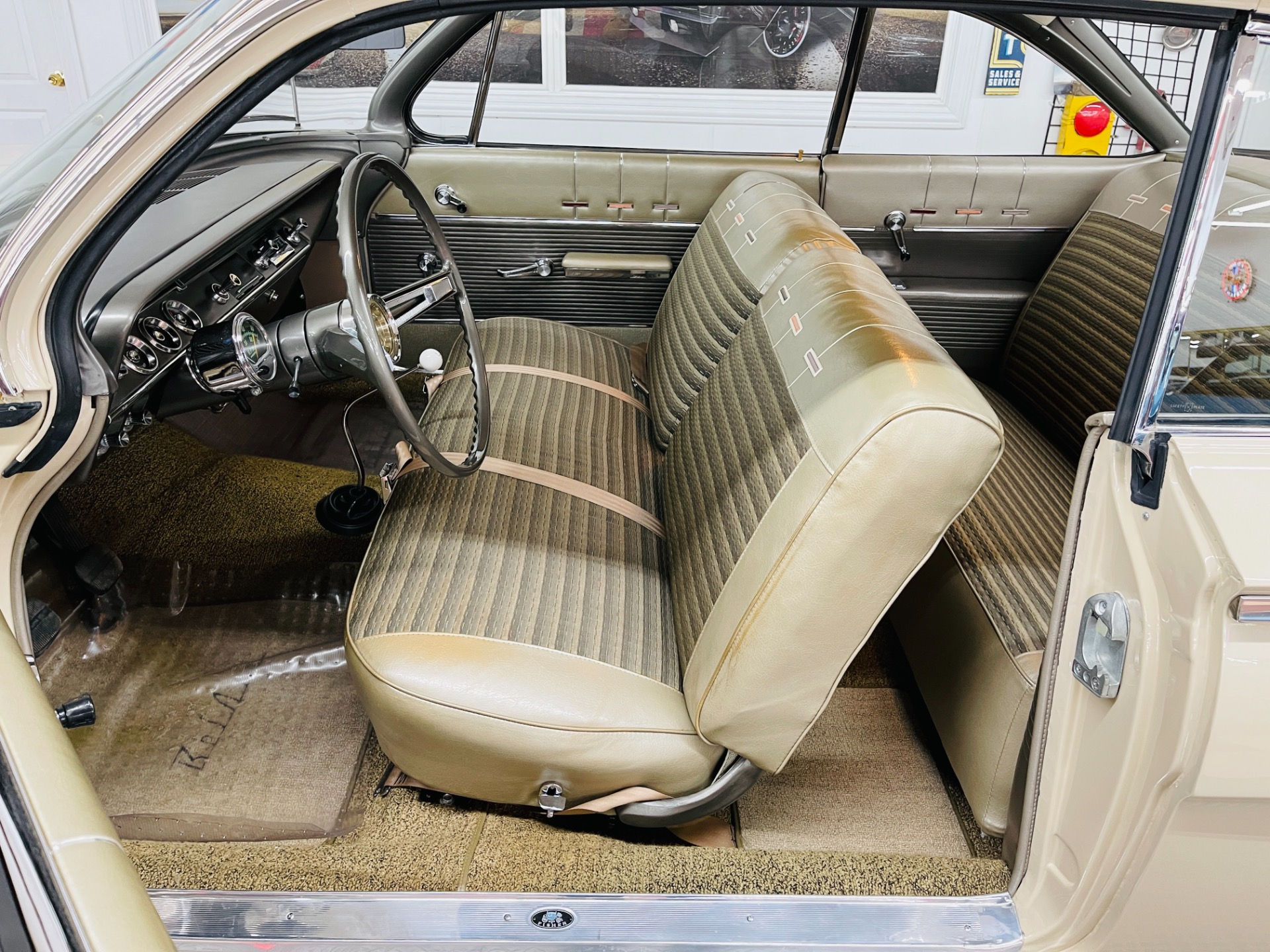 Used 1962 Chevrolet Bel Air - DUAL QUAD 409 TRIBUTE - 4 SPEED MANUAL - SHOW QUALITY - SEE VIDEO - | Mundelein, IL