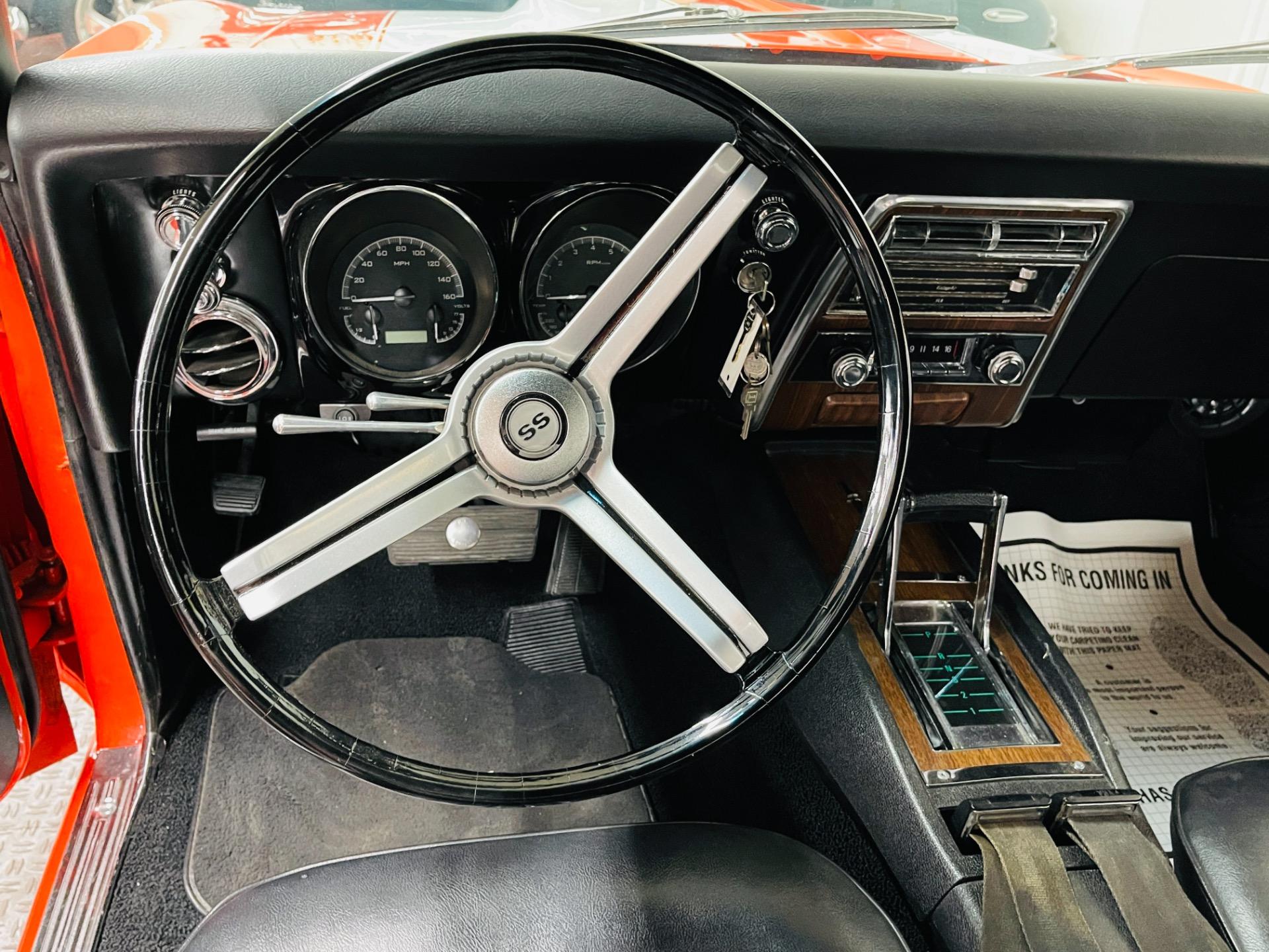 Used 1968 Chevrolet Camaro - SUPER SPORT - 396 ENGINE - HUGGER ORANGE - SEE VIDEO - | Mundelein, IL