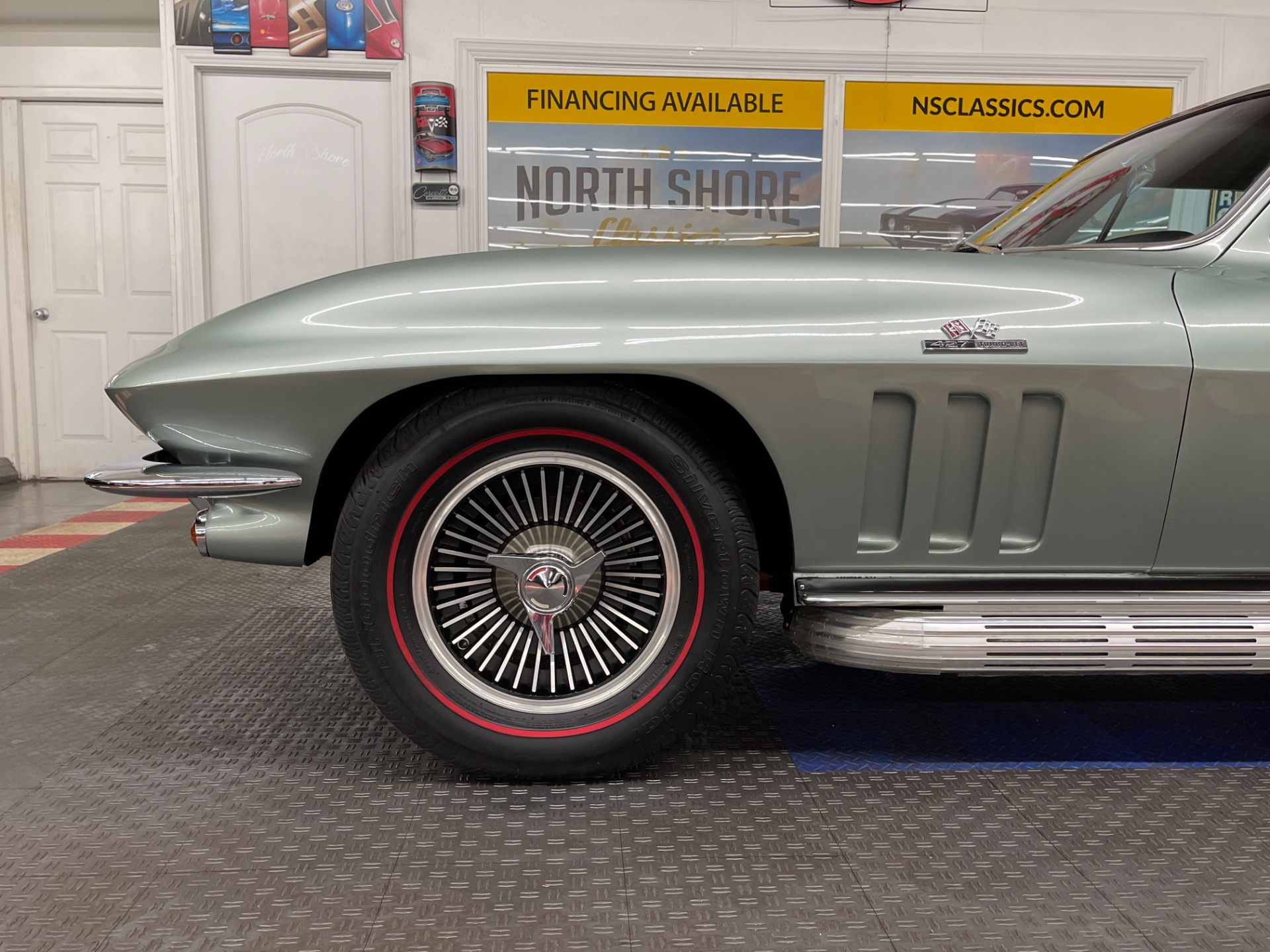 Used 1966 Chevrolet Corvette - MOSPORT GREEN COUPE - 390 HP 427 ENGINE - 4 SPEED - SEE VIDEO | Mundelein, IL