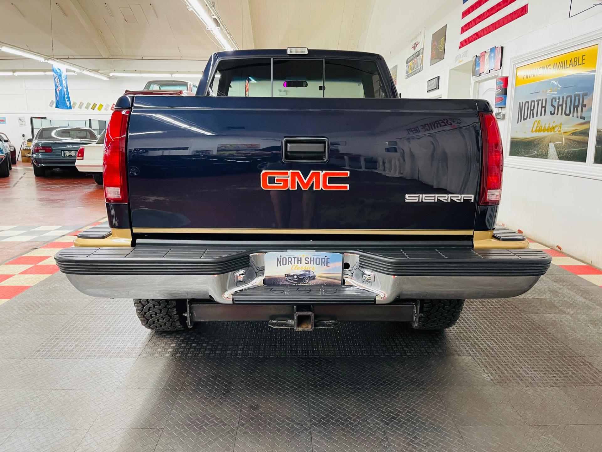 Used 1990 GMC Sierra 1500 - SLE - 4X4 - STEP SIDE - FRESH RESTORATION - SEE VIDEO | Mundelein, IL