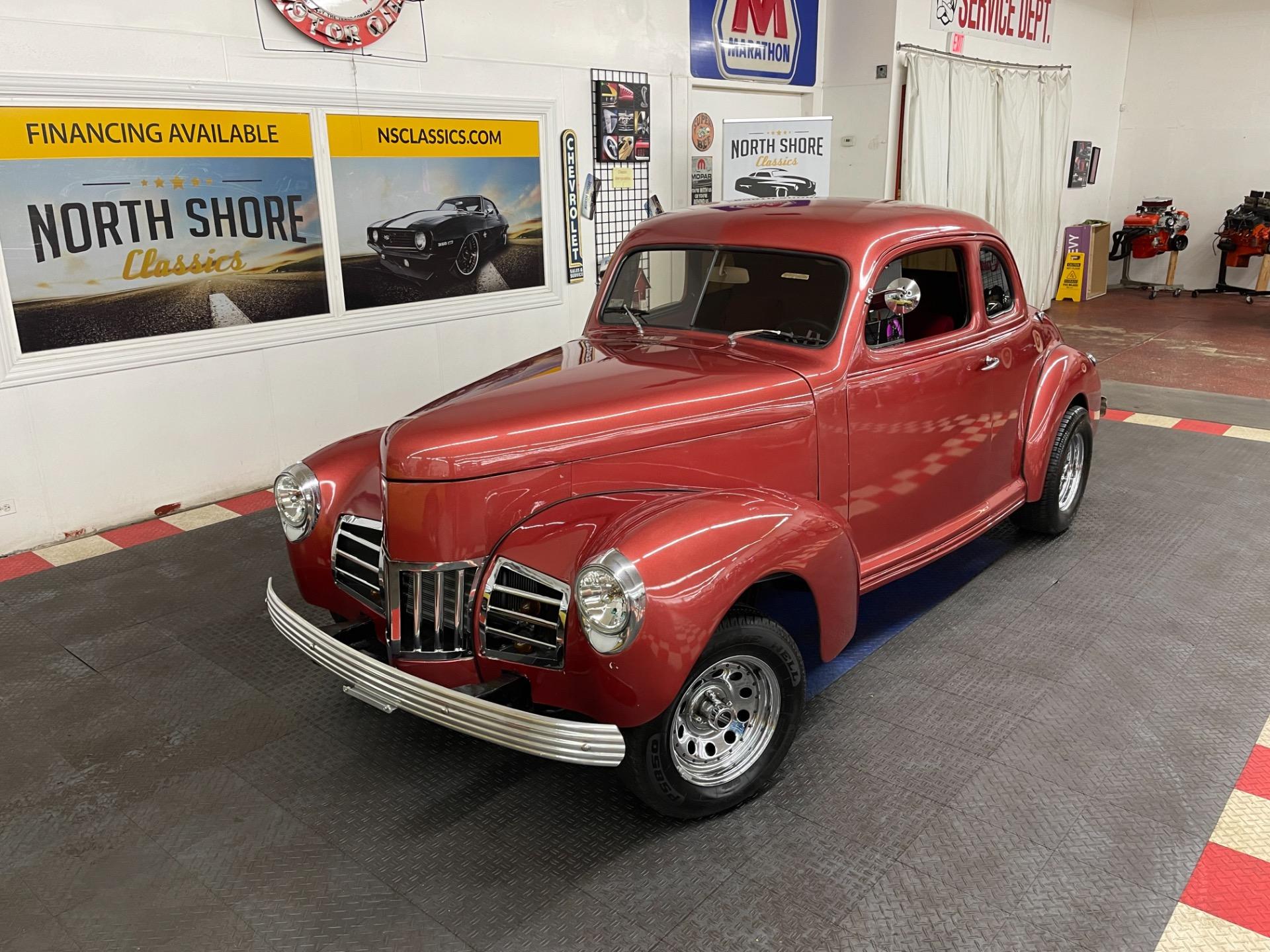 Used 1939 Studebaker Hot Rod / Street Rod - COMPLETE MECHANICAL RESTORATION -  NICE DRIVER - SEE VIDEO | Mundelein, IL
