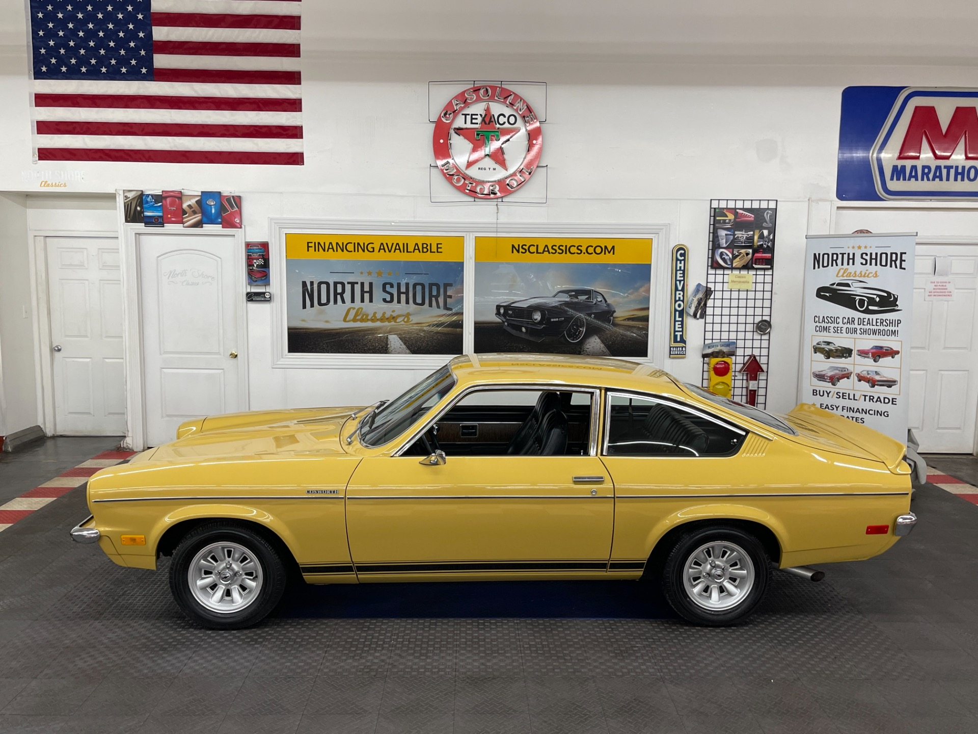 Used 1973 Chevrolet Vega - COSWORTH CONVERSION - SUPER CLEAN - 5 SPEED MANUAL - SEE VIDEO | Mundelein, IL