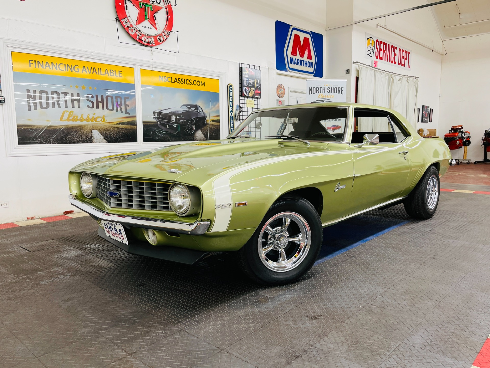 Used 1969 Chevrolet Camaro - FROST GREEN - 383 ENGINE - VERY CLEAN - SEE VIDEO | Mundelein, IL
