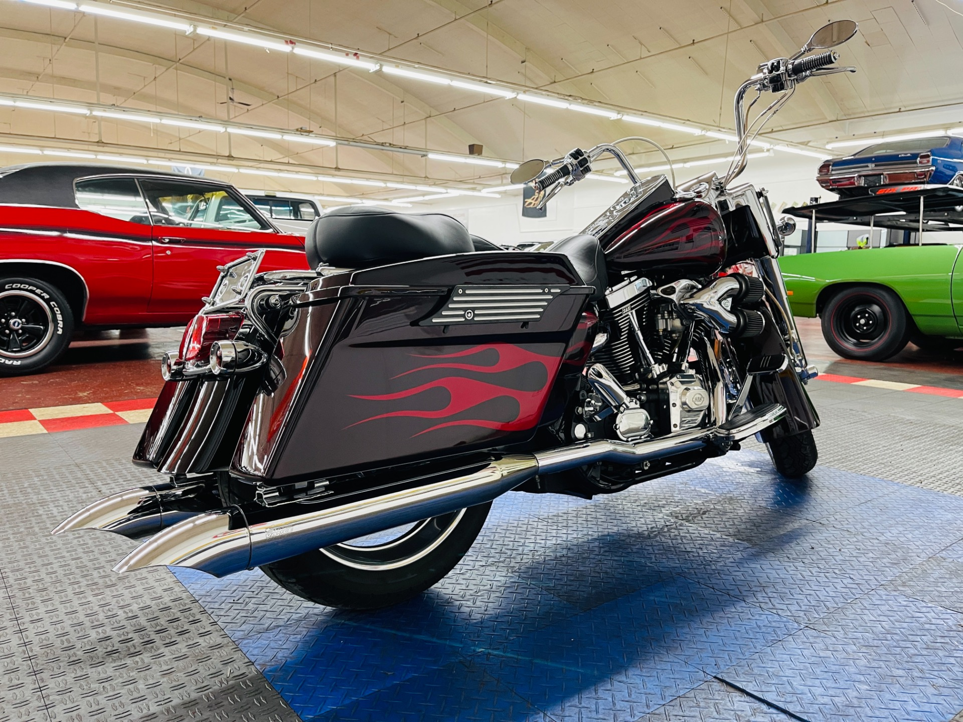 Used 2002 Haley Davidson Road King Custom Paint 124 SS Motor - SEE VIDEO | Mundelein, IL