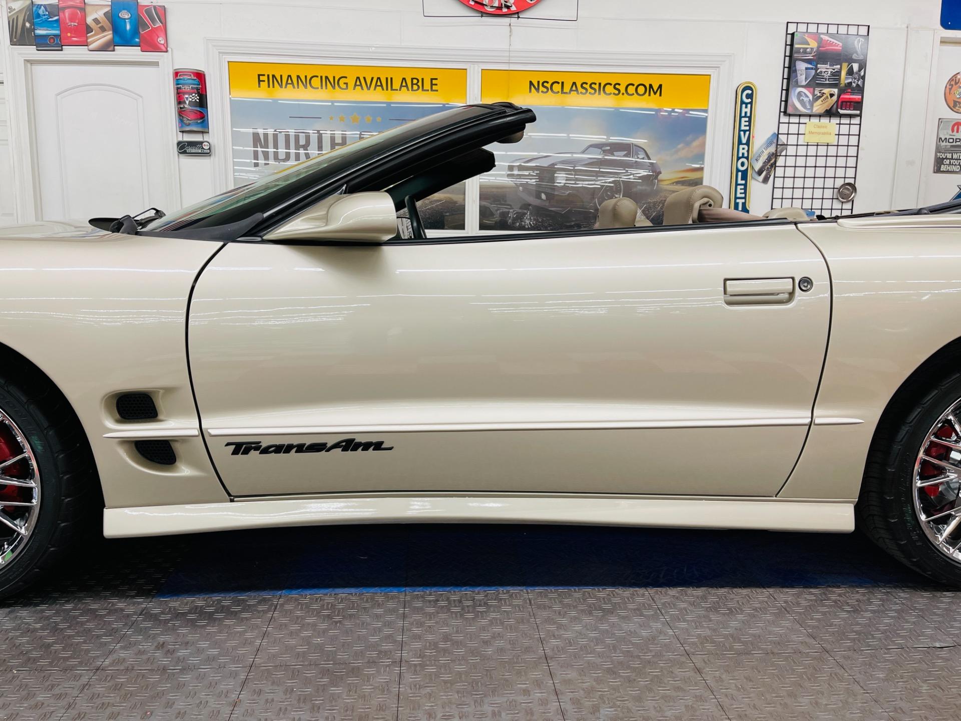 Used 2002 Pontiac Firebird - TRANS AM - CONVERTIBLE - NEW PAINT - SEE VIDEO | Mundelein, IL