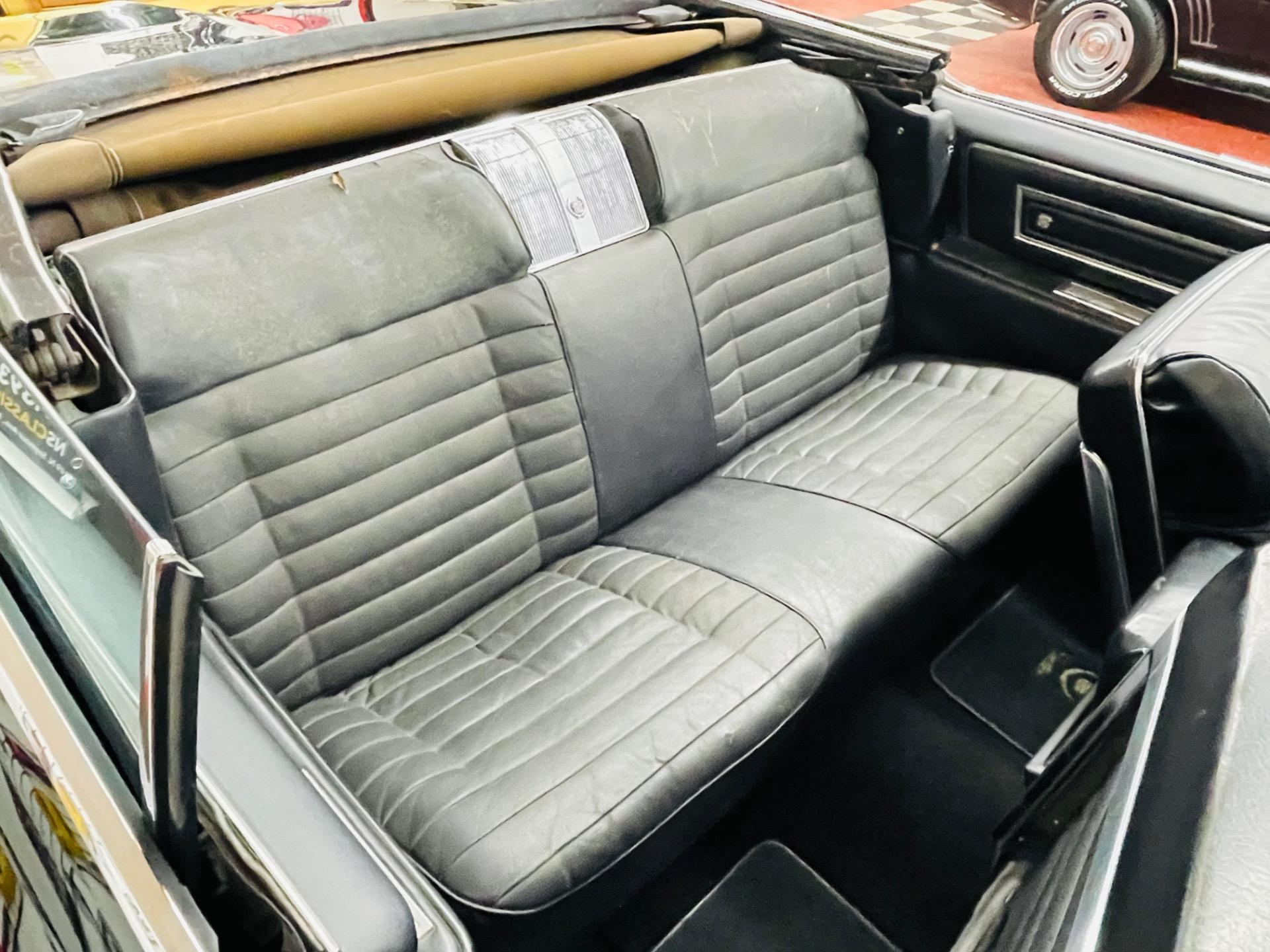 Used 1966 Cadillac Eldorado - CONVERTIBLE - TRIPLE BLACK - SEE VIDEO   Mundelein, IL