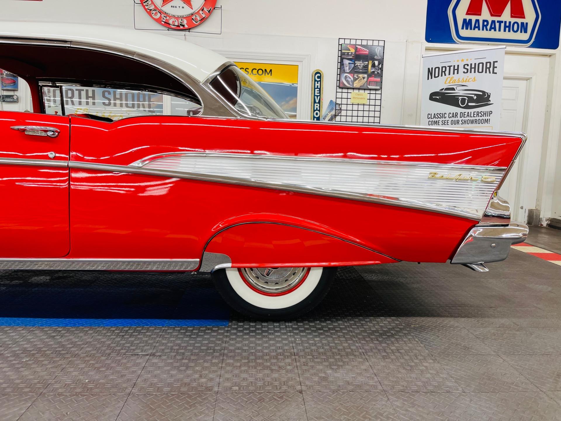 Used 1957 Chevrolet Bel Air - HARDTOP - 4 SPEED - BEAUTIFUL RESTORATION - SEE VIDEO | Mundelein, IL