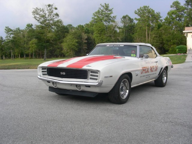 1969 chevrolet camaro zl1 indy pace car stock 69841rj for sale near mundelein il il. Black Bedroom Furniture Sets. Home Design Ideas