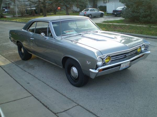 Used 1967 Chevrolet Chevelle SS- EFI Fuel Injected | Mundelein, IL