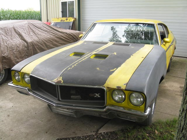 Used 1970 Buick GSX BARN FIND-STAGE 1-VERY RARE GEM | Mundelein, IL