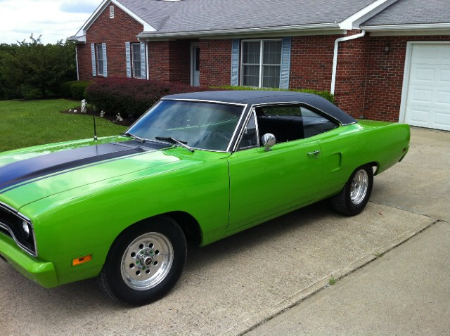 1970 Plymouth Road Runner ONE OWNER-SUB LIME GREEN-Low Miles-SEE VIDEOS Stock # 5876469CLCH For