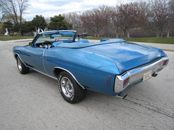 Used 1970 Chevrolet Chevelle Convertible- Hard to find-call us today | Mundelein, IL
