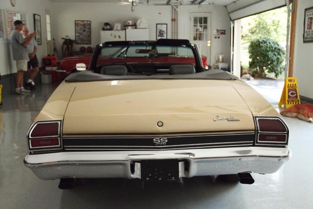 Used 1969 Chevrolet Chevelle SS-Frame Off Restored-BID AT MECUM AUCTION | Mundelein, IL
