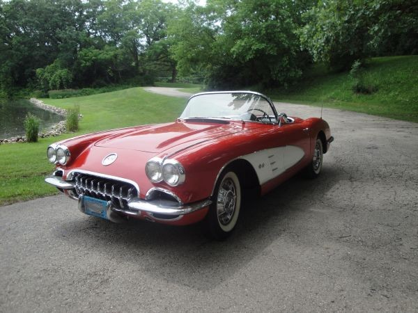 Used 1960 Chevrolet Corvette Vintage Vette-Same owner 30 years-SEE VIDEO | Mundelein, IL