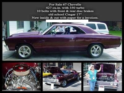 Used 1967 Chevrolet Chevelle 427 BIG BLOCK POWER-FROM FLORIDA | Mundelein, IL