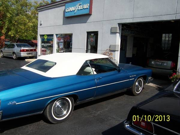 Used 1975 Buick LeSabre SWEET CONVERTIBLE-LOW MILES | Mundelein, IL