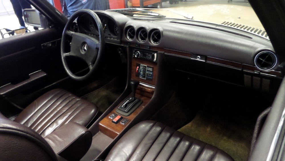 1980 mercedes benz 450sl numbers match all original very for Mercedes benz telephone number