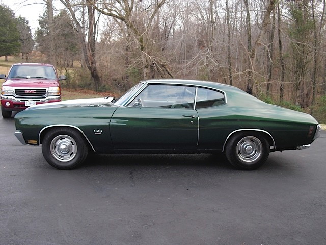 Used 1970 Chevrolet Chevelle SS454-ORIGINAL MILES-BUILD SHEET DOCUMENTED-PROTECT O PLATE | Mundelein, IL