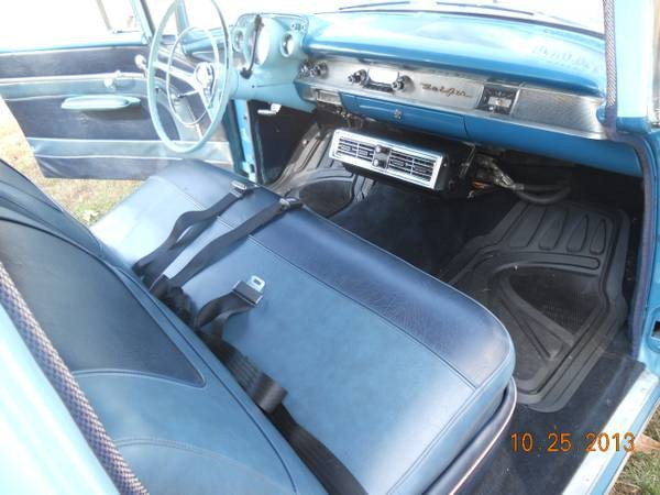 Used 1957 Chevrolet Bel Air Harbor Blue-Nice Driver WITH AC FROM KENTUCKY   Mundelein, IL