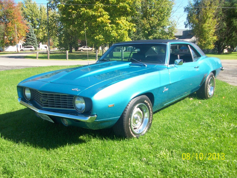 Used 1969 Chevrolet Camaro COPO-Only 1 of 2 BUILT-L72 427-Same owner over 24 Years | Mundelein, IL