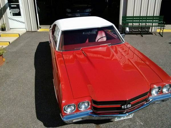 Used 1970 Chevrolet Chevelle SS- Documented BUILD SHEET | Mundelein, IL