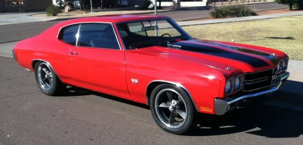 Used 1970 Chevrolet Chevelle SS 396, 4-SPEED WITH A/C- RESTORED | Mundelein, IL