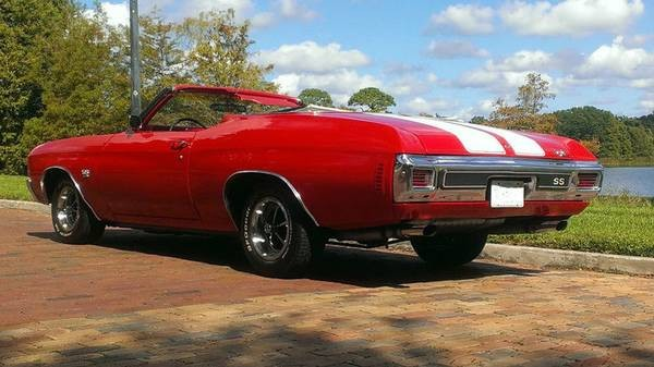 Used 1970 Chevrolet Chevelle SS REAL SUPER SPORT CONVERTIBLE-FRAME OFF RESTORED | Mundelein, IL