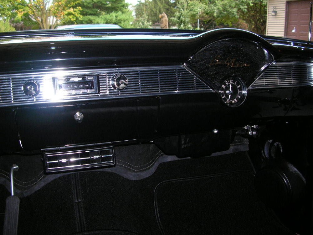 Used 1956 Chevrolet Bel Air Convertible FRAME OFF PRO RESTORED BLACK ON BLACK | Mundelein, IL
