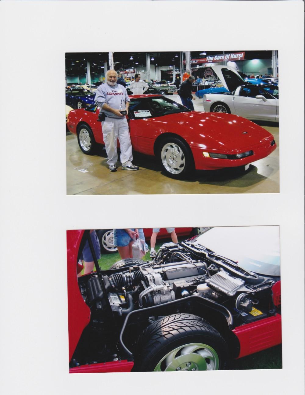 Used 1994 Chevrolet Corvette TORCH RED-PRISTINE   Mundelein, IL