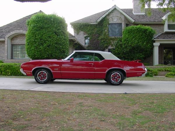 1970 Oldsmobile 442 Convertible Complete Frame Off