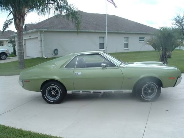 Used 1970 Amc Amx 4 Speed Restored from Florida | Mundelein, IL