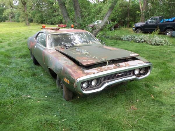 1971 Plymouth Gtx PROJECT CAR-WE CAN RESTORE FOR YOU Stock # 4821PJ