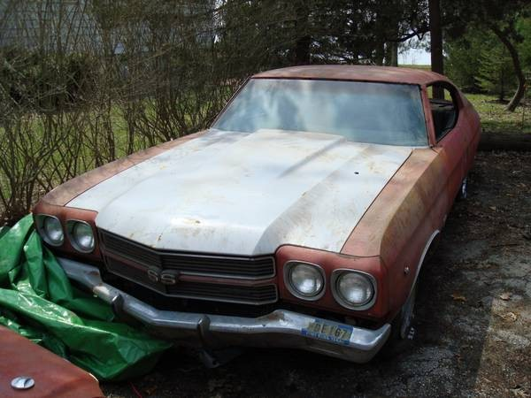 Used 1970 Chevrolet Chevelle SS396-2 BUILD SHEETS DOCUMENTED-WE CAN RESTORE FOR YOU | Mundelein, IL