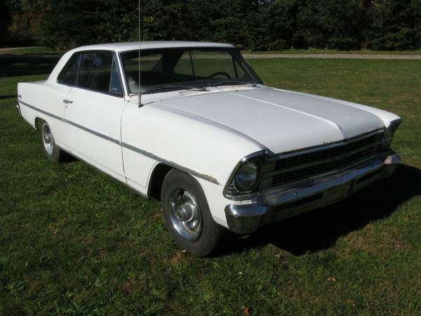 Used 1967 Chevrolet Nova PROJECT CAR-Chevy II 2 door Hard Top- CAN BUILD FOR YOU | Mundelein, IL