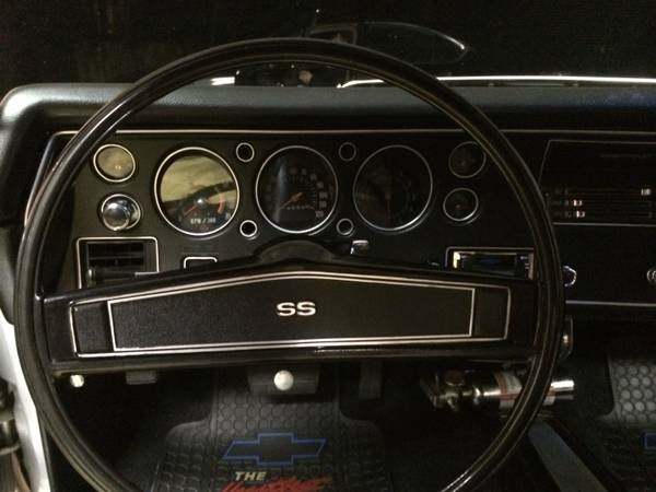 Used 1970 Chevrolet Chevelle SS454-RESTORED CORTEZ SILVER | Mundelein, IL