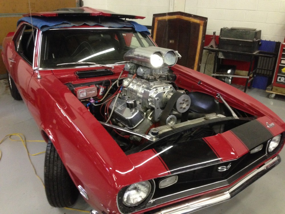 Used 1968 Chevrolet Camaro SS-BLOWN 468 SUPERCHARGED-STREET LEGAL 800HP | Mundelein, IL