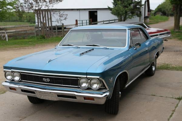 Used 1966 Chevrolet Chevelle SS396 Frame-Off L 78 375HP | Mundelein, IL