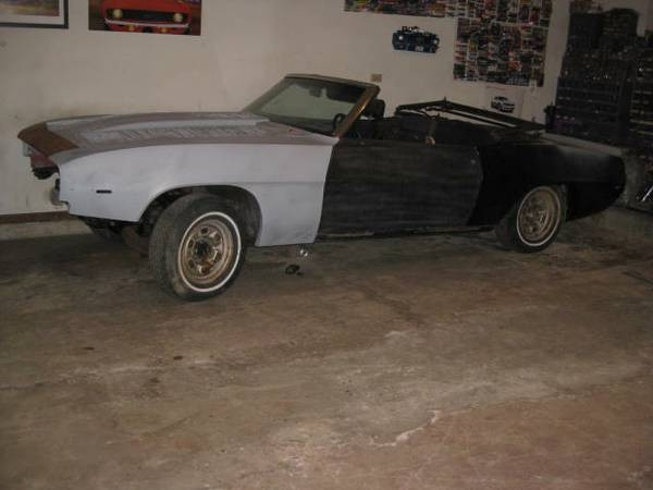 Used 1969 Chevrolet Camaro X11 CONVERTIBLE-WE CAN BUILD YOUR DREAM | Mundelein, IL