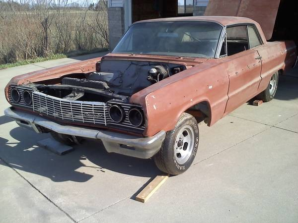 Used 1964 Chevrolet Impala SS-PROJECT CAR-WE CAN RESTORE FOR YOU | Mundelein, IL