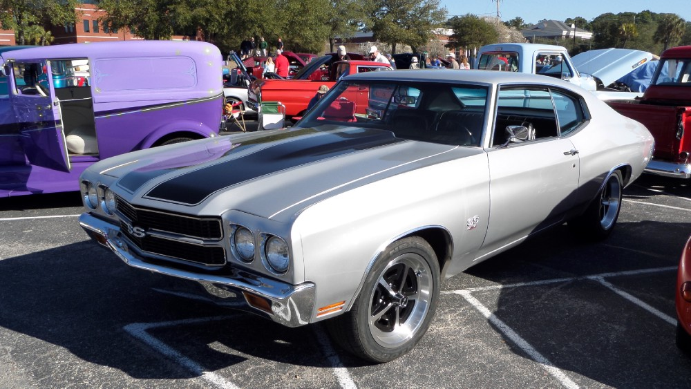 Used 1970 Chevrolet Chevelle SS454-RESTORED-WORKING AC-NICE CORTEZ SILVER | Mundelein, IL