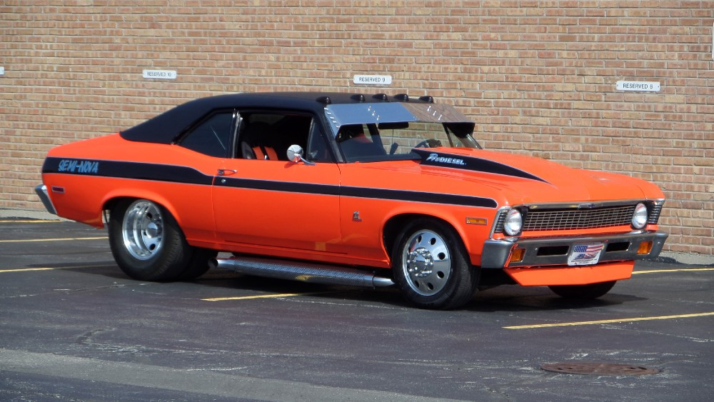 Used 1970 Chevrolet Nova PRO DIESEL-SEMI DUALLY SS-ONE OF A KIND-SEE VIDEOS | Mundelein, IL