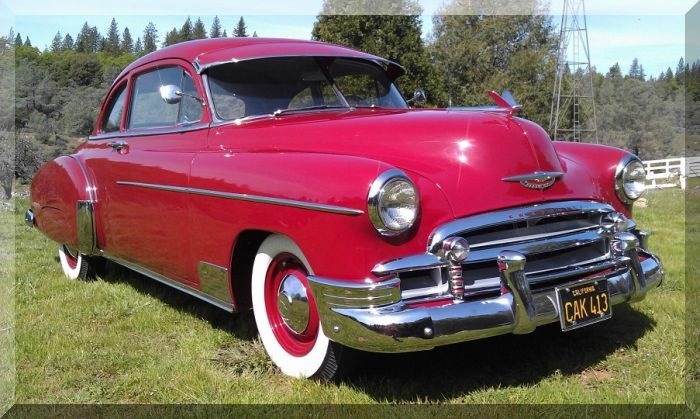Used 1950 Chevrolet Deluxe SPORT COUPE-SHOWROOM QUALITY | Mundelein, IL
