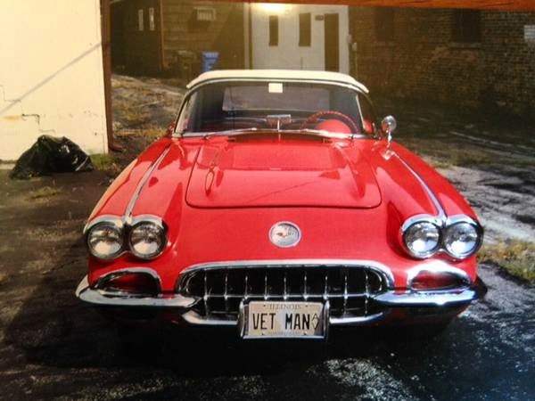 Used 1958 Chevrolet Corvette CONVERTIBLE MINT CONDITION-MORE PICS COMING SOON | Mundelein, IL