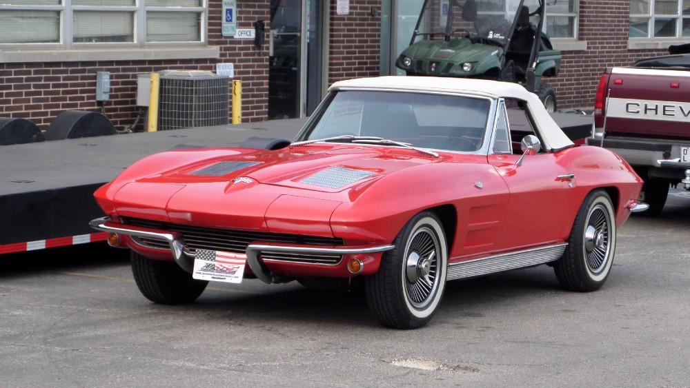 Used 1963 Chevrolet Corvette NUMBERS MATCHING CONVERTIBLE ORIGINAL CRUISER | Mundelein, IL